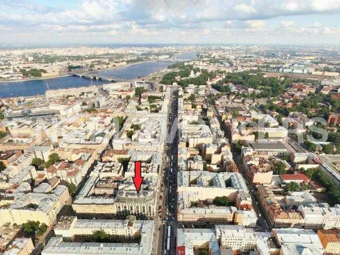 Элитные квартиры в Центральном районе. Санкт-Петербург, Невский пр. 152. Месторасположение