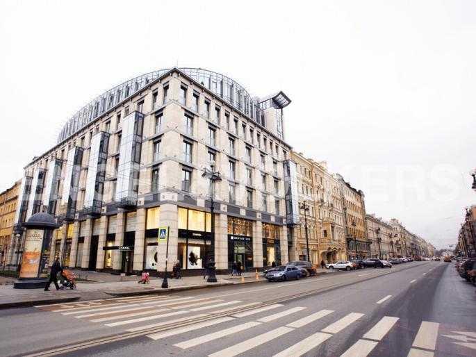 Элитные квартиры в Центральном районе. Санкт-Петербург, Невский пр. 152.