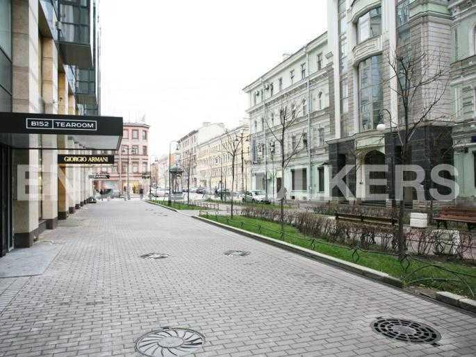 Пешеходная зона Тележного переулка