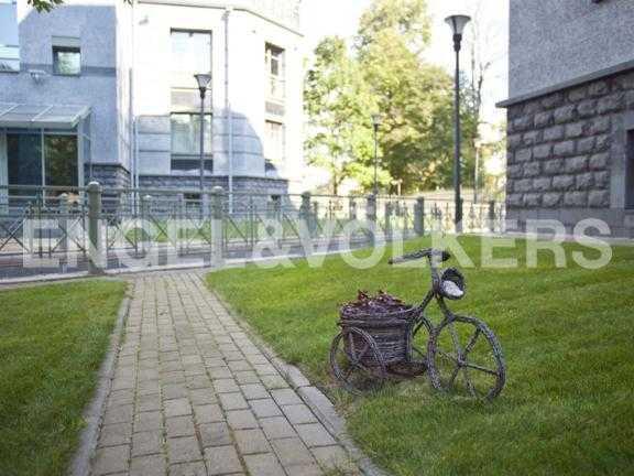 Элитные квартиры на . Санкт-Петербург, 2-ая Березовая аллея 13-15. Закрытая территория комплекса