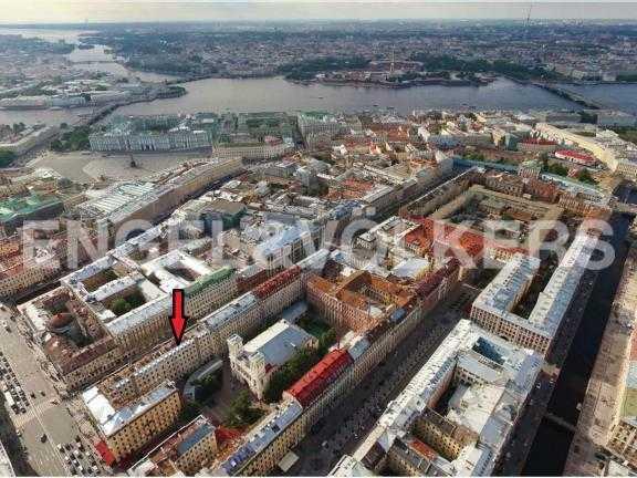 Элитные квартиры в Центральный р-н. Санкт-Петербург, Большая Конюшенная ул. 12. Месторасположение