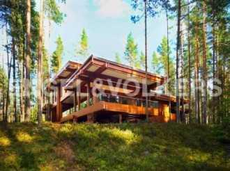 Озеро Симагинское — резиденция на берегу озера