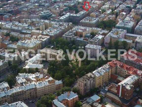 Элитные квартиры в Петроградском районе. Санкт-Петербург, Ленина ул. 22. Месторасположение