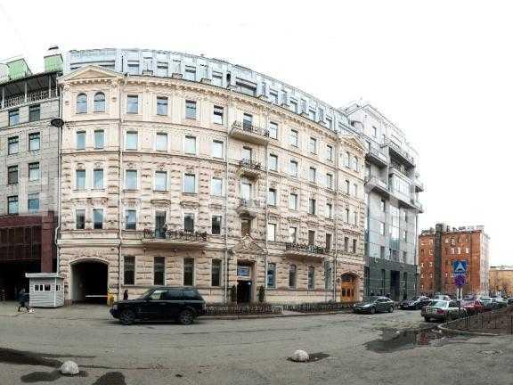 Элитные квартиры в Петроградский р-н. Санкт-Петербург, Мичуринская ул. 6. Фасад дома