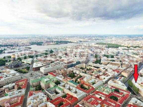 Элитные квартиры в Центральном районе. Санкт-Петербург, Наб. канала Грибоедова 46. Месторасположение