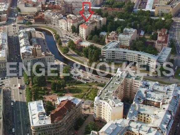 Элитные квартиры в Петроградский р-н. Санкт-Петербург, Наб. реки Карповки 19.