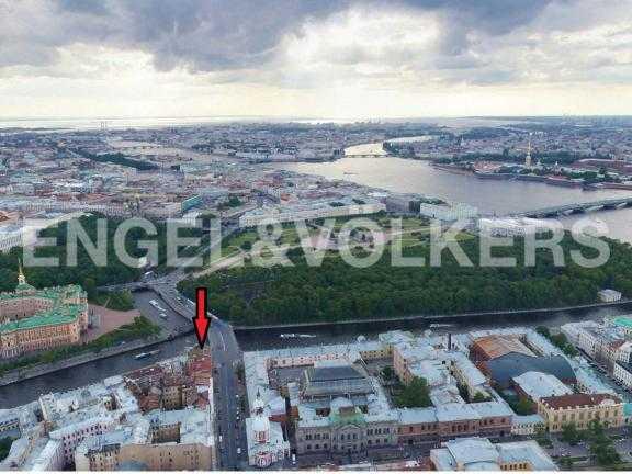 Элитные квартиры в Центральный р-н. Санкт-Петербург, Наб. реки Фонтанки, 12.