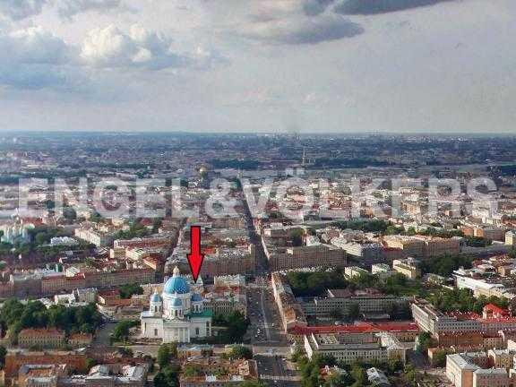 Элитные квартиры в Центральном районе. Санкт-Петербург, Наб. реки Фонтанки 126. Месторасположение