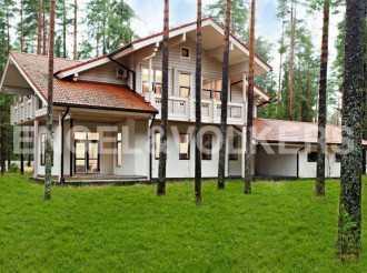 п. Рощино — загородный дом на оз. Малая Ладога