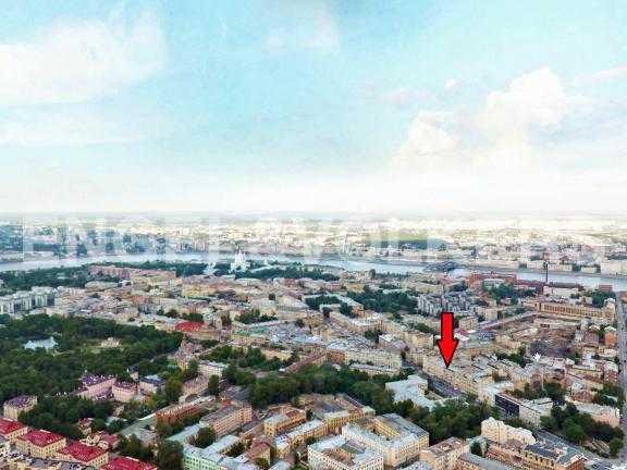Элитные квартиры в Центральном районе. Санкт-Петербург, Таврическая ул. 3. Месторасположение