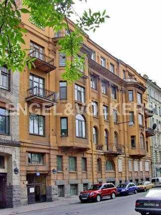 Элитные квартиры в Центральном районе. Санкт-Петербург, Таврическая ул. 3. Фасад дома