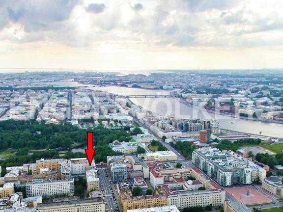 Элитные квартиры в Центральном районе. Санкт-Петербург, Тверская ул. 1А. Месторасположение