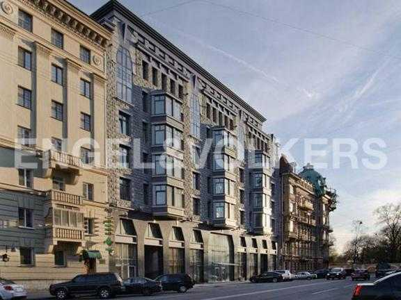 Элитные квартиры в Центральном районе. Санкт-Петербург, Тверская ул. 1А. Фасад комплекса