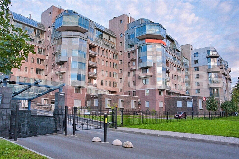 Элитные квартиры на . Санкт-Петербург, Рюхина ул. 12. Фасад