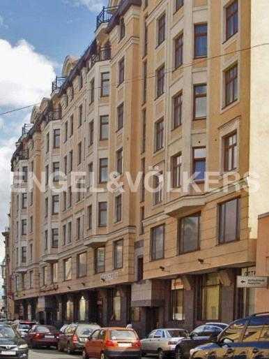 Элитные квартиры в Центральном районе. Санкт-Петербург, 9-я советская ул. 5. Фасад дома