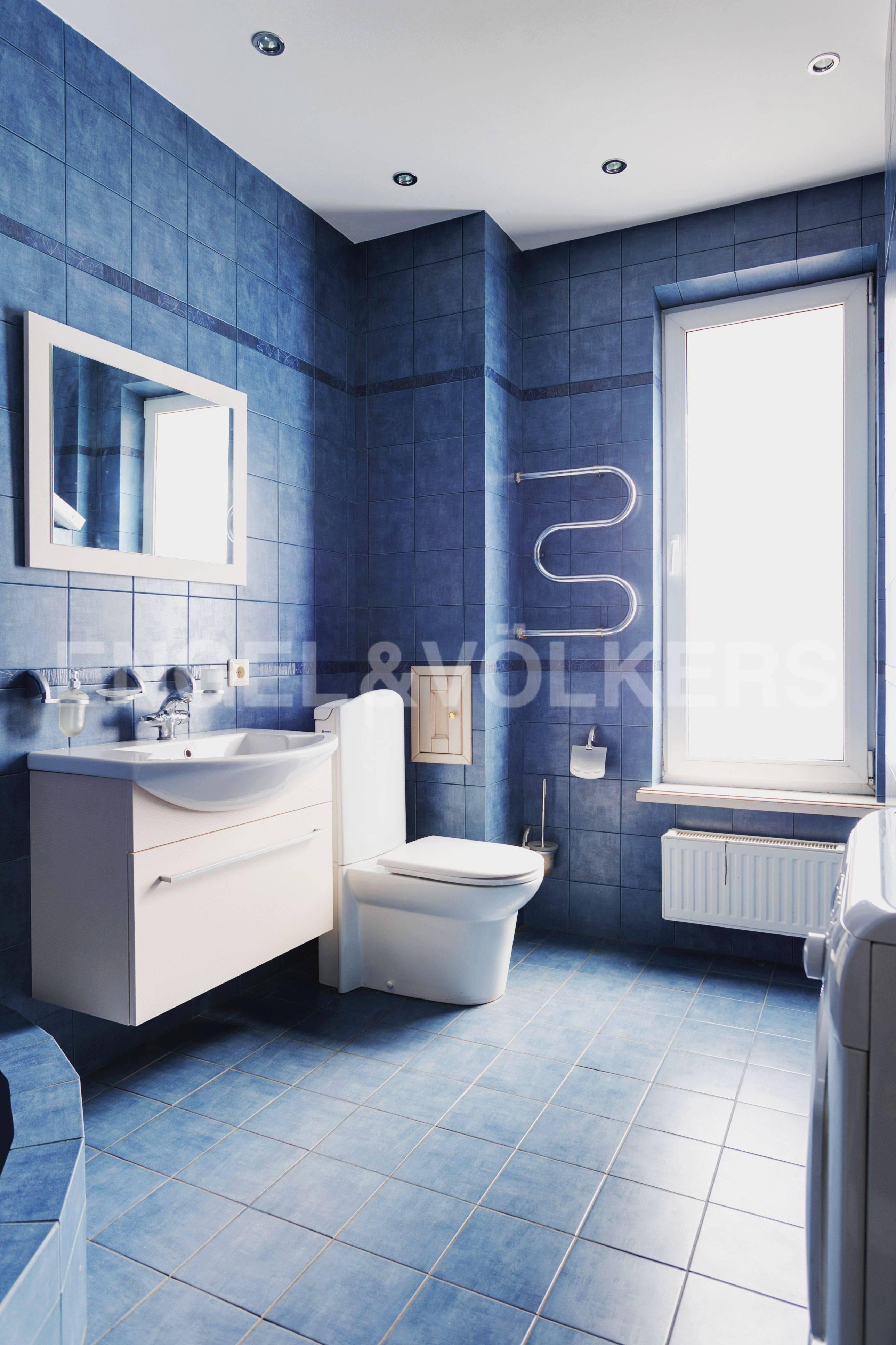 Элитные квартиры в Выборгский р-н. Санкт-Петербург, Большой Сампсониевский пр. 4-6. Ванная комната