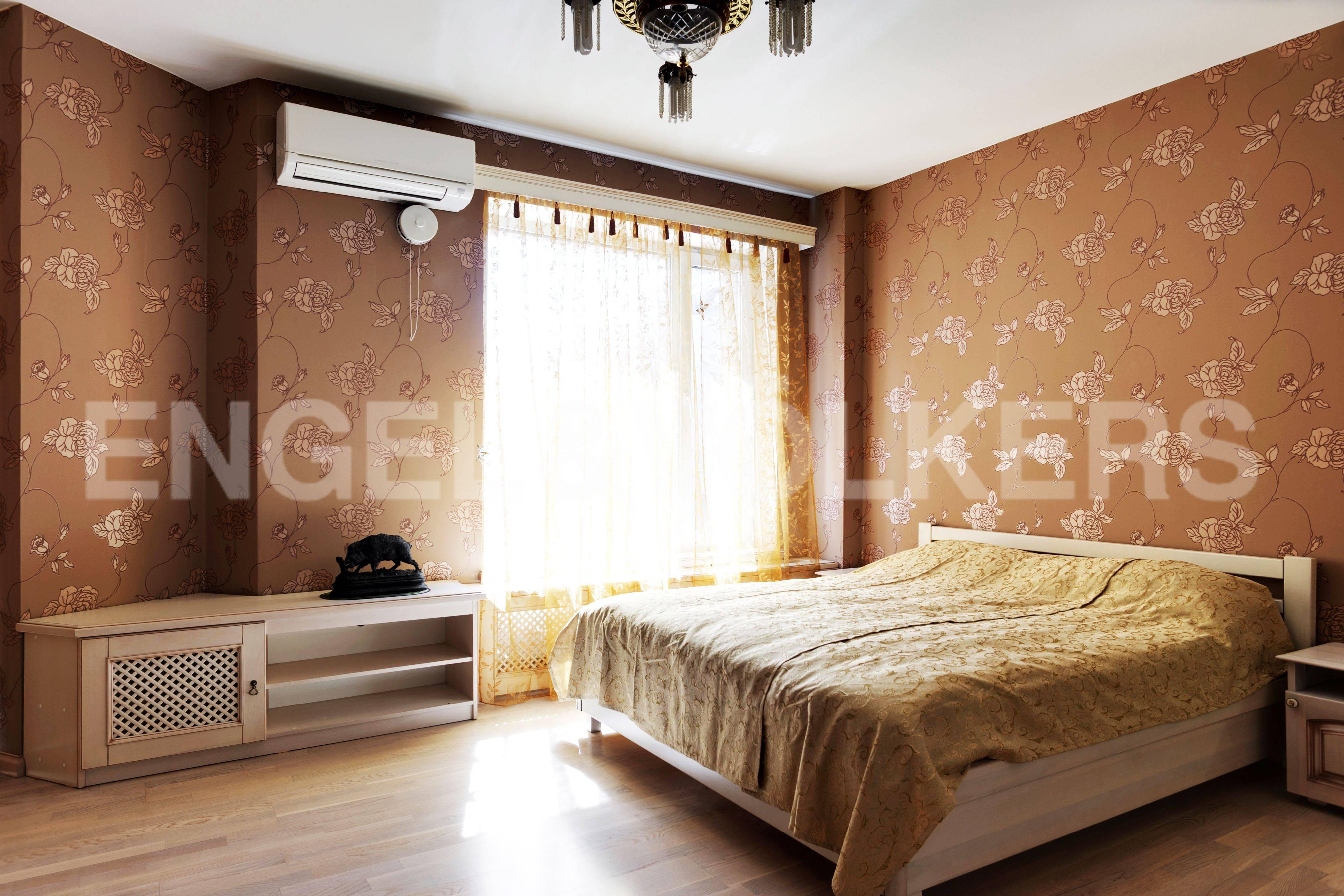 Элитные квартиры в Выборгский р-н. Санкт-Петербург, Большой Сампсониевский пр. 4-6. Спальня
