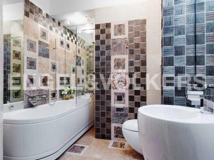 Элитные квартиры на . Санкт-Петербург, Мартынова, 74. Гостевая ванная комната