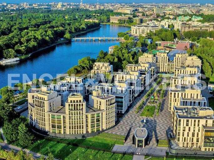 Элитные квартиры на . Санкт-Петербург, Мартынова, 74. Месторасположение комплекса