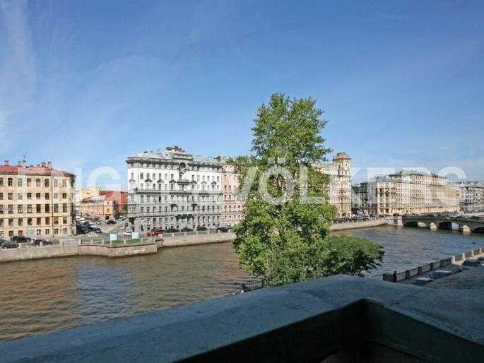 Элитные квартиры в Центральном районе. Санкт-Петербург, Наб. реки Фонтанки 126.