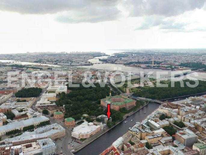 Элитные квартиры в Центральном районе. Санкт-Петербург, Наб. реки Фонтанки, 1. Месторасположение