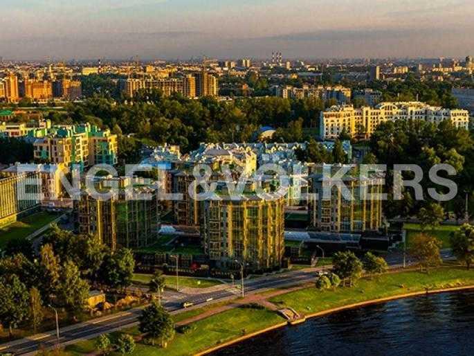 Элитные квартиры на . Санкт-Петербург, Константиновский пр., 23. Месторасположение комплекса