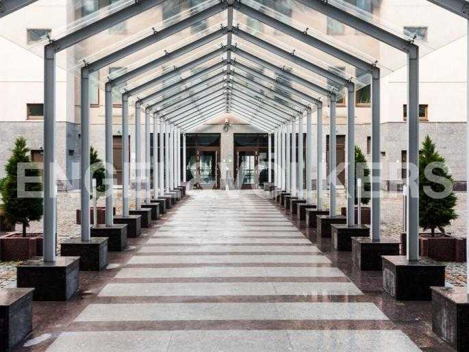 Элитные квартиры в Центральном районе. Санкт-Петербург, Тверская, 1А. Внутренняя территория дома