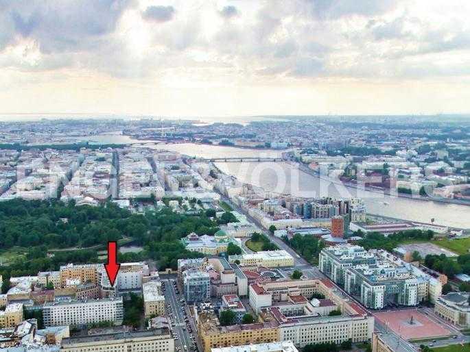 Элитные квартиры в Центральном районе. Санкт-Петербург, Тверская, 1А. Месторасположение
