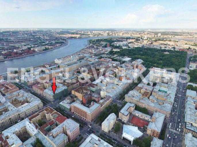 Элитные квартиры в Центральный р-н. Санкт-Петербург, Захарьевская ул., 16. Месторасположение