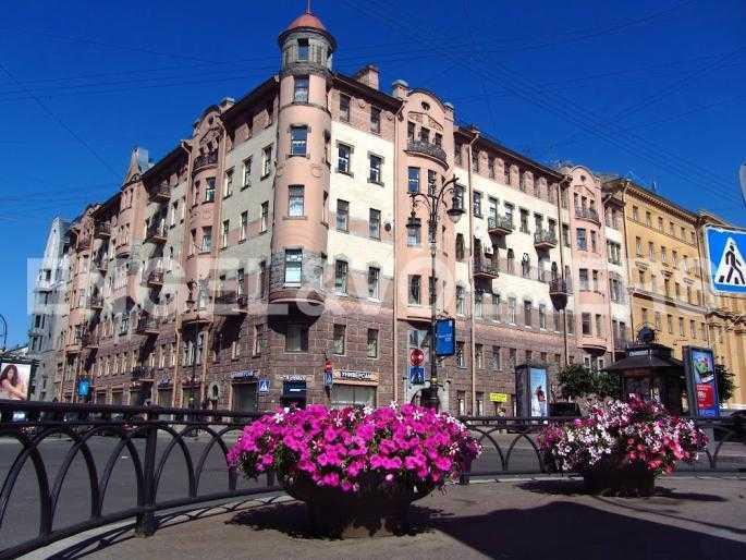 Элитные квартиры в Центральный р-н. Санкт-Петербург, Захарьевская ул., 16. Фасад дома