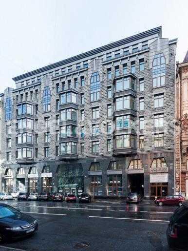 Элитные квартиры в Центральном районе. Санкт-Петербург, Тверская, 1А. Фасад дома