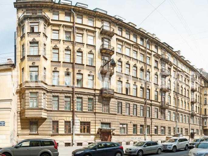 Элитные квартиры в Центральный р-н. Санкт-Петербург, Манежный пер. 16. Фасад дома