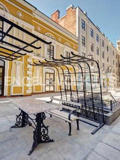 Элитные квартиры в Центральном районе. Санкт-Петербург, Конногвардейский б-р, 5. Внутренняя территория комплекса