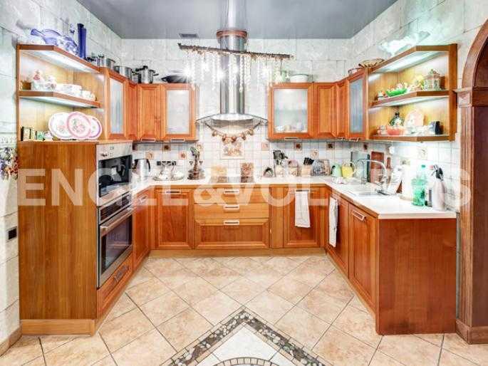Элитные квартиры на . Санкт-Петербург, 2-я Березовая аллея, 34. Кухня