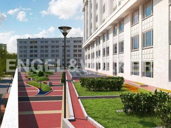 Элитные квартиры в Центральном районе. Санкт-Петербург, Новгородская ул., 23. Внутренняя территория комплекса