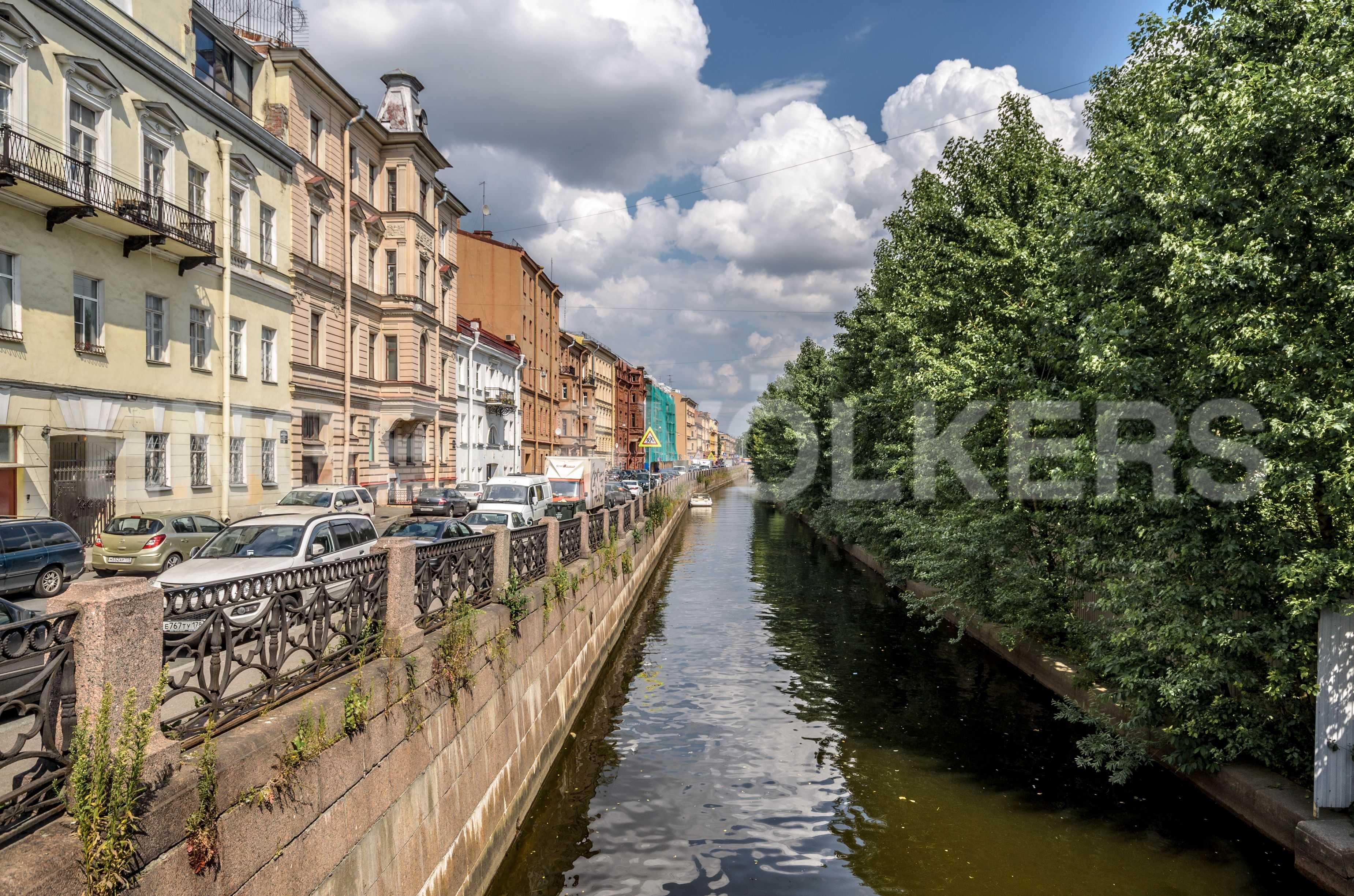 Элитные квартиры в Центральном районе. Санкт-Петербург, наб. Адмиралтейского канала, 15. Адмиралтейский канал