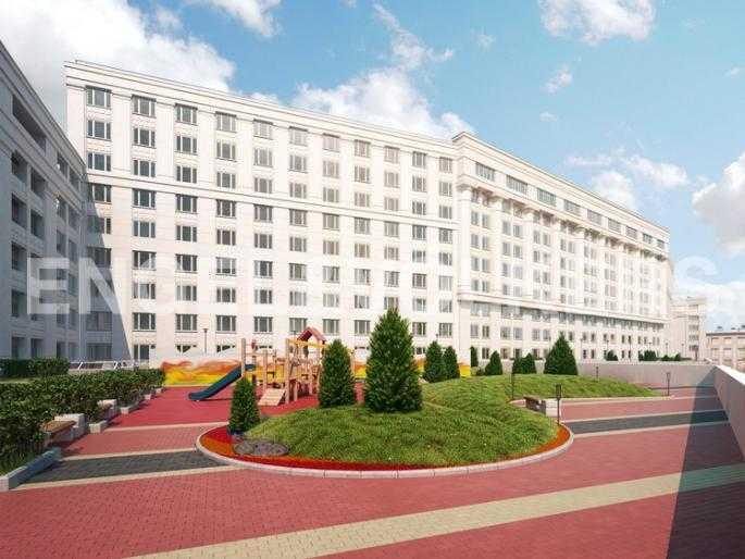 Элитные квартиры в Центральном районе. Санкт-Петербург, Новгородская ул.. Внутренняя территория комплекса