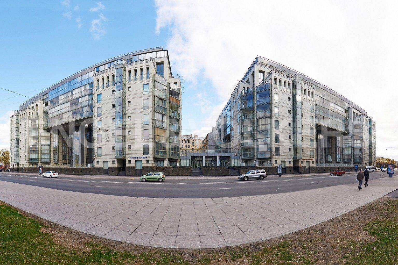 Элитные квартиры в Центральном районе. Санкт-Петербург, Шпалерная ул. 60. Фасад комплекса