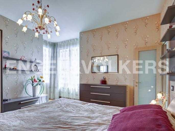 Элитные квартиры в Петроградском районе. Санкт-Петербург, Барочная, 12. Спальня