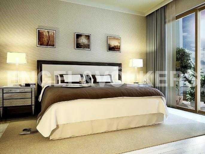 Дизайн-проект спальной комнаты