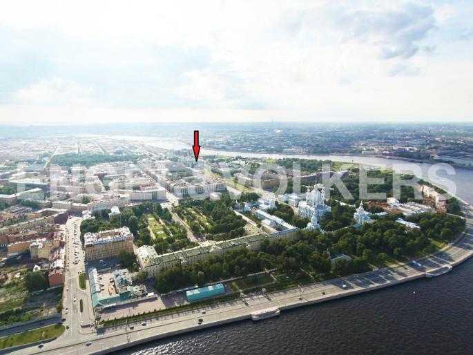 Элитные квартиры в Центральном районе. Санкт-Петербург, Шпалерная ул. 60. Местоположение