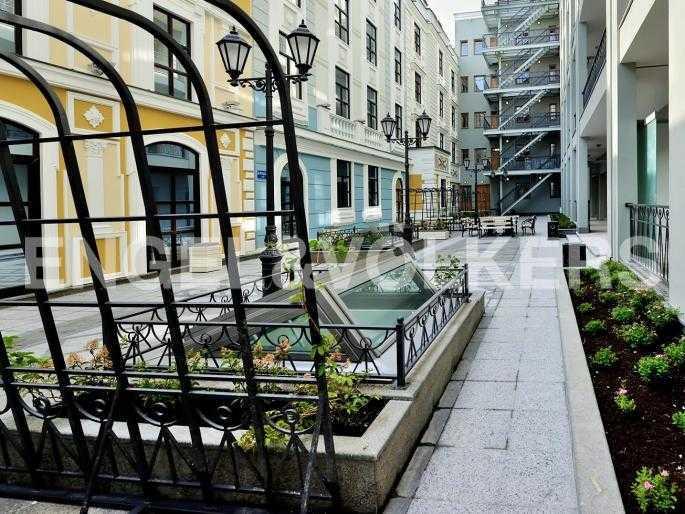 Элитные квартиры в Адмиралтейский р-н. Санкт-Петербург, Конногвардейский б-р, 5. Внутренняя территория комплекса