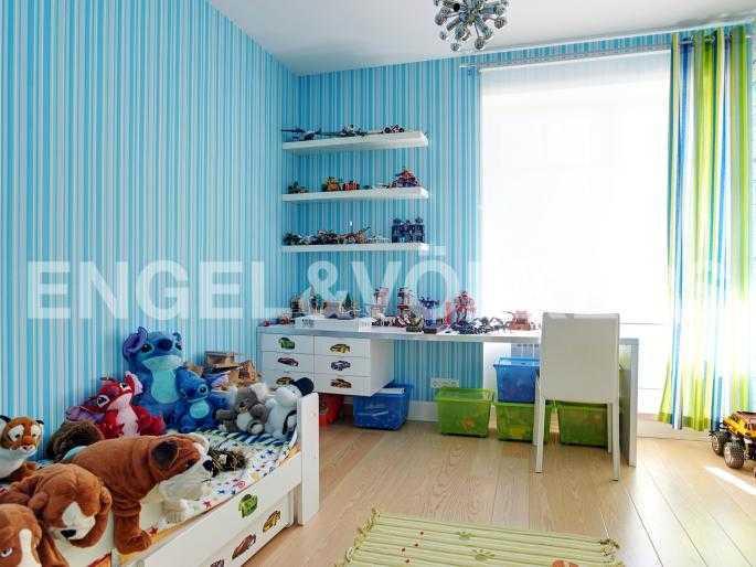 Элитные квартиры в Курортном районе. Санкт-Петербург, г.Сестрорецк. Третья спальня (детская)