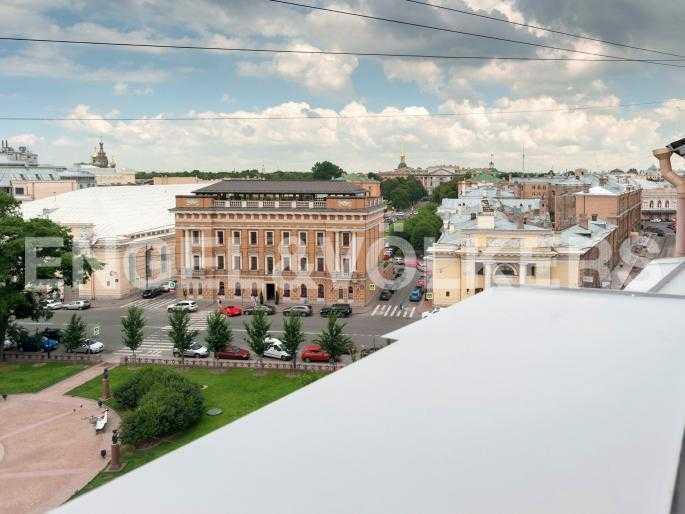 Элитные квартиры в Центральный р-н. Санкт-Петербург, Караванная, 16. Вид на панораму исторического Петербурга