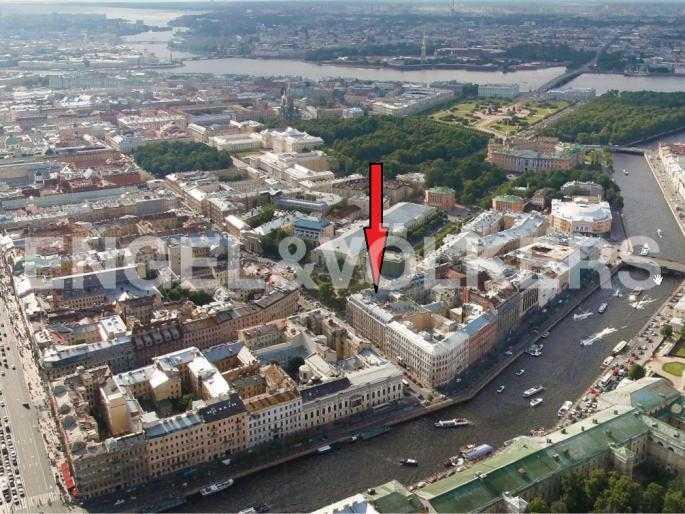 Элитные квартиры в Центральный р-н. Санкт-Петербург, Караванная, 16. Месторасположение