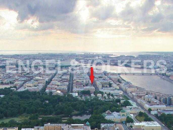 Элитные квартиры в Центральном районе. Санкт-Петербург, Захарьевская, 33. Месторасположение