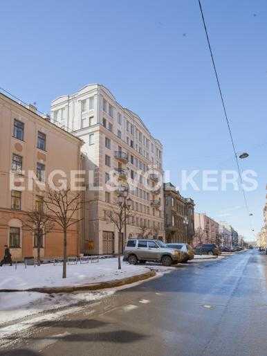 Элитные квартиры в Центральном районе. Санкт-Петербург, Захарьевская, 33. Захарьевская улица