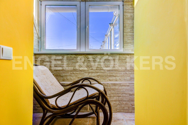 Элитные квартиры в Центральном районе. Санкт-Петербург, Стремянная, 16. Лоджия