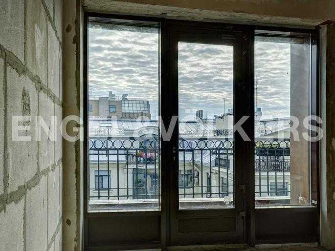 Элитные квартиры в Центральном районе. Санкт-Петербург, Стремянная, 15. Вид из окна