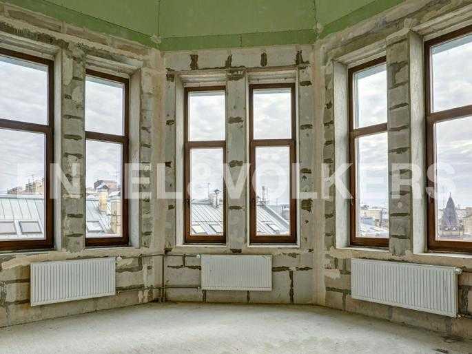 Элитные квартиры в Центральном районе. Санкт-Петербург, Стремянная, 15. Вид из окон 7 этажа